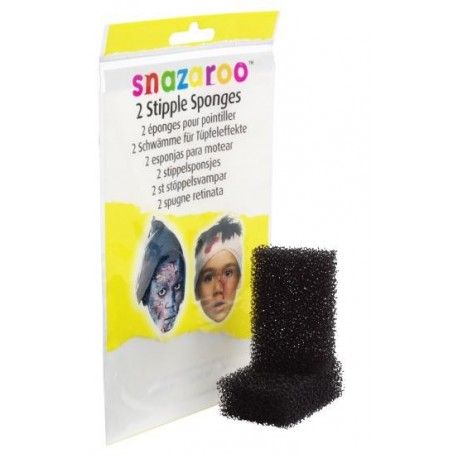 Snazaroo Confezione 2 Spugnette Abrasive