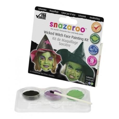 Snazaroo Face Paints Kit Witch