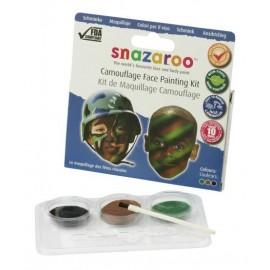 Snazaroo Colori Viso Kit Guerrieri