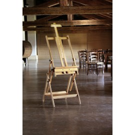 Cappelletto - Studio Easel all-in-one 122-253 cm Height Made in Italy