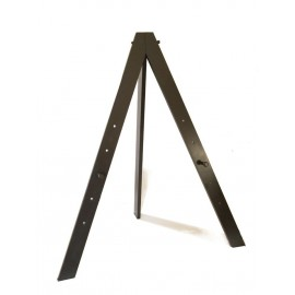 Cappelletto - Black Finished Exhibition Easel Made in Italy