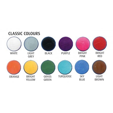 Snazaroo Colore per Viso Classico in Confezione 18 ml
