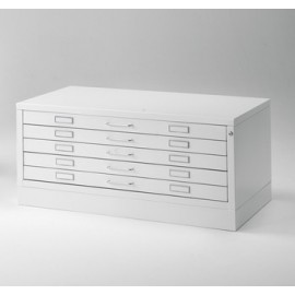 Draftech Premium - Metallic Drawer format A1 5 drawers