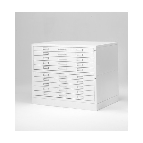 Chest of Drawers 10 Metallica Draftech format A1