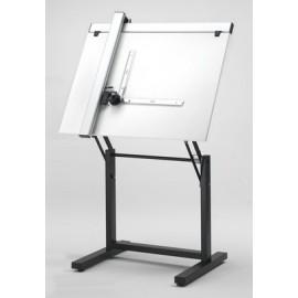 Tavolo da Disegno Bilanciato con Tecnigrafo 80x120 cm