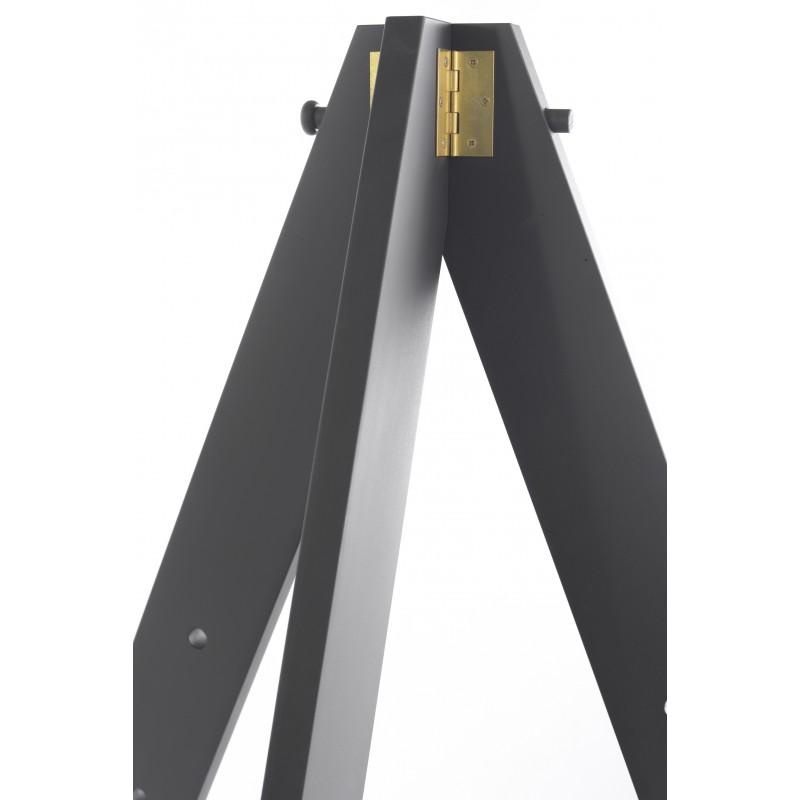 Cavalletto da esposizione in legno verniciato nero by cappelletto vendita online - Cavalletto da pittore da tavolo ...