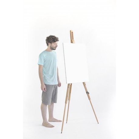 Cappelletto - Field Easel 185 cm Height French Model Made in Italy