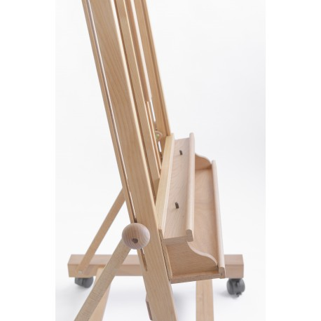 Cappelletto - Studio Easel Height 145 cm Made in Italy