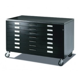 Archive Chest of Drawers with Wheels A1 7 Draftech