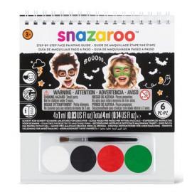 Snazaroo Colori Viso Kit Halloween