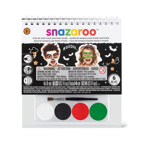 Snazaroo Face Paints Kit Halloween