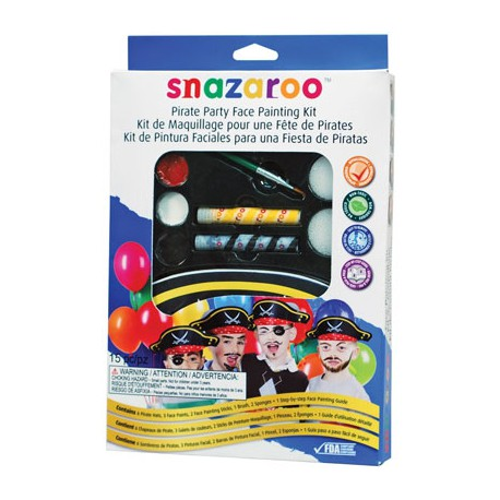 Snazaroo Face Paints Special Kit Pirates