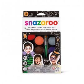 Snazaroo Colori Viso Kit Tavolozza Halloween