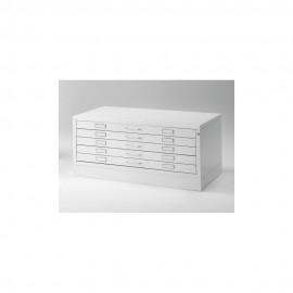 Draftech Metallic Drawer DIN A1 - 5 drawers