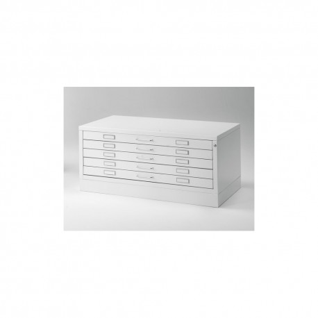 Draftech Metallic Drawer DIN A1 - 5 drawers