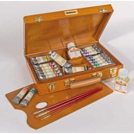 Maimeri Oil Colours Beechwood Box 25x35 cm