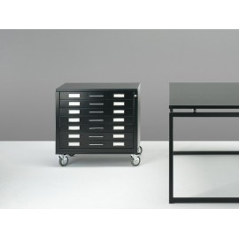 Draftech Metal Drawer on Castors - DIN A2 - 7 Drawers