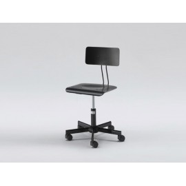 Swivel Designer Chair - Black