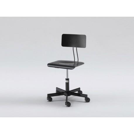 Swivel Designer Chair - Black