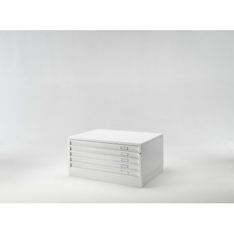 Draftech Basic - A1 -5 Drawers - White