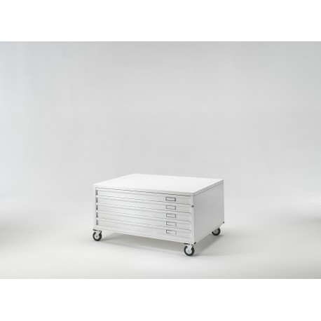 Draftech Basic - Drawers A1 - 5 Drawers - Wheels