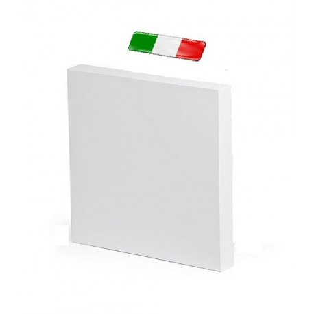 FAM-Pack of 4 Canvases 100x100 cm 33 mm Section 100% Cotton Made in Italy