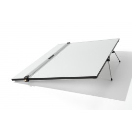 Drawing Board with Parallel Motion Ruler A2 - Made in Italy -