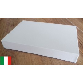 FAM - 4 Canvases 40x70cm - Cotton - 44mm Frame - Made in Italy