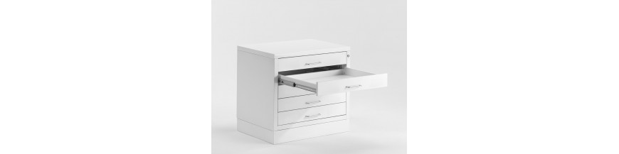 DRAFTECH - METALLIC DRAWERS A0 A1
